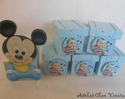 Lembrancinha Mickey Baby com foto