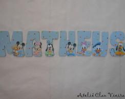 Letras personalizadas Baby Disney