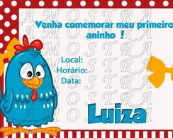 Convite - Galinha Pintadinha