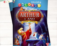Revista Colorir Avi�es Disney