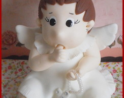 Topo de Bolo Anjo (anjinha)