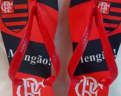 Chinelo Personalizado Flamengo