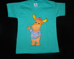 camiseta pintada BACKYARDIGANS- Tyrone