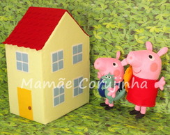 Kit - Peppa, George e Casa