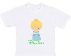 Camiseta personalizada Cinderela