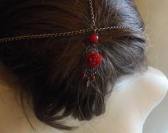 Headband Medieval Rose