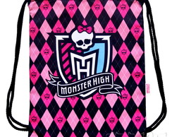 Mochila Infantil Monster High Rosa/Azul