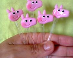 Mini colherzinhas Peppa pig