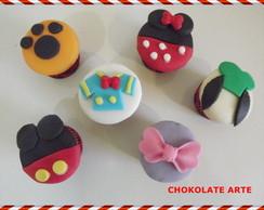 Cupcake Mickey e sua turma