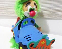 Boneco 3D Palha�o Calhambeque