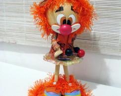 Boneca 3D Palha�a Alegria