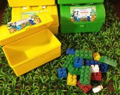 Maletinha com Blocos de Montar Toy Story