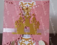 Convite Princesa com Castelo