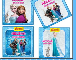 Rotulo para Baton Frozen.
