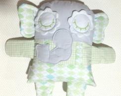 Naninha elefante verde