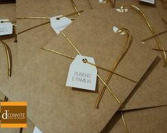 Convite de Casamento CRAFT