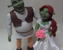 Shrek e Fiona noivos