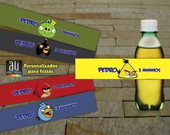 R�tulos Refrigerantes Angry Birds Grupo