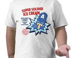 "Camiseta Infantil ""Soldier Ice Cream"""