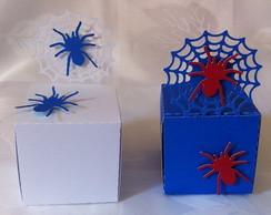 Caixa teia de aranha