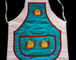 Avental galinhas