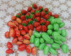 Frutas em miniatura
