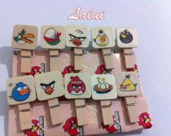 Mini Pregador - Angry Birds