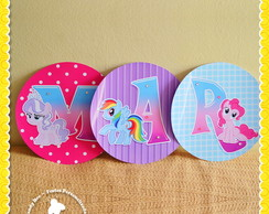 Varal Letras My Little Pony