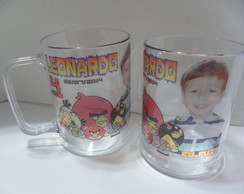 Caneca Angry Birds c/Foto! (f.transp.)