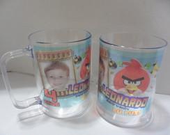 Caneca Angry Birds c/Foto! (f.colorido)