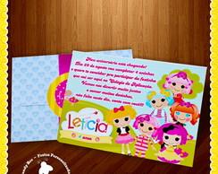 Convite personalizado Lalaloopsy