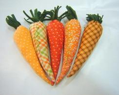 Cenoura em patchwork