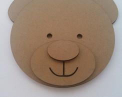 Aplique Urso mdf