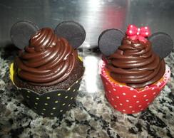 Cup cakes Mickey e Minnie