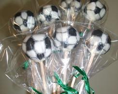 Pop-cakes bola de futebol