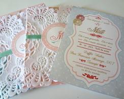Convite vintage