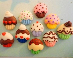 Cup Cakes Fofos