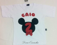 Camiseta Personalizada - Mickey
