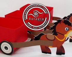 Cx Carro�a Cavalo Fazendinha