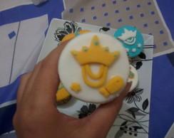 Cupcake - Tema Oxum