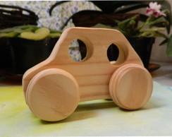 Mini-Carrinho em madeira - modelo 1