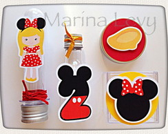 Kit Festa B�sico 1 - Minnie