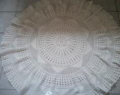 Toalha de Mesa em Barbante Redonda