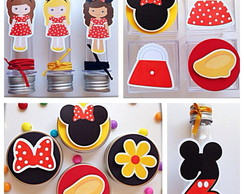 Kit Festa Premium 3D - Minnie