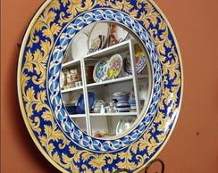 Espelho com borda Italiana