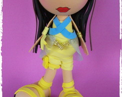 Fofucha em Eva Monster High Cleo de Nile