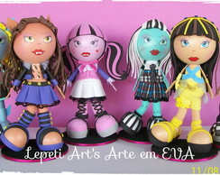 Kit Fofuchos em Eva Monster High