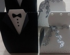Caixa noivinhos para bem casado