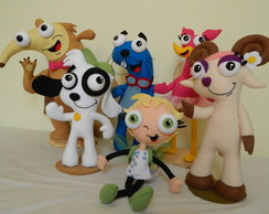 Kit Doki e seus amigos 6 pe�as
