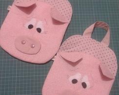 Lixeirinha P/ Carro porquinho(a)